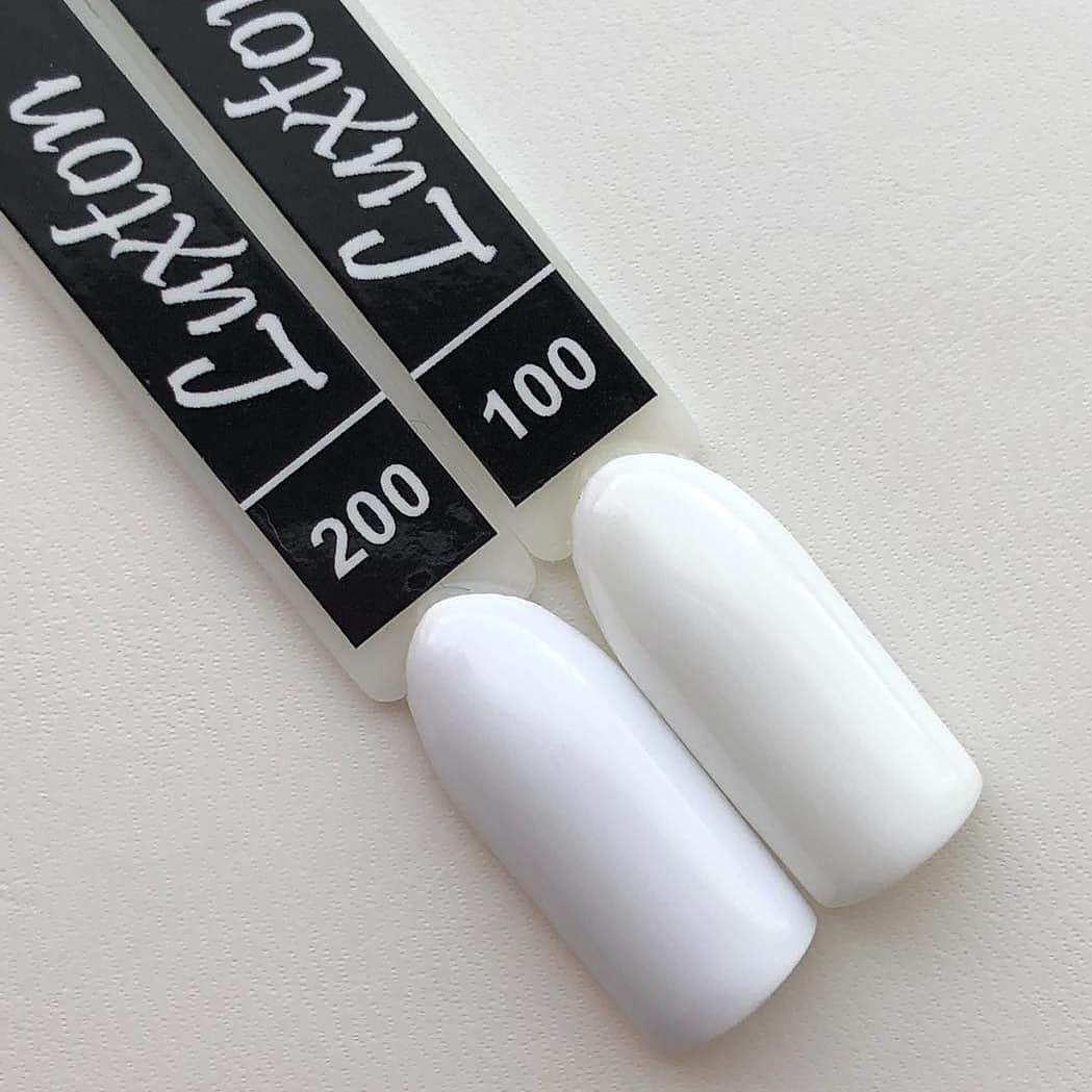 Гель-лак Luxton № 200, 10 мл (холодный белый)