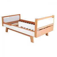 Кровать подростковая Верес Манхэттен Junior (цвет: бело-буковый) 160*80