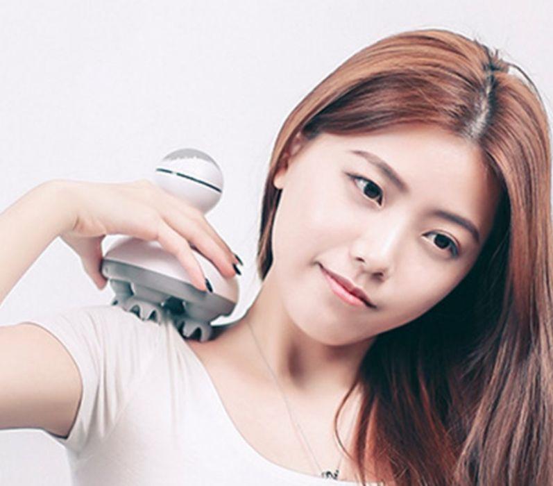 Массажер для головы шеи спины тела Xiaomi (Антистресс 3D)