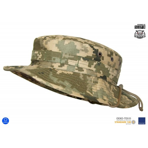 "Панама военная полевая ""MBH"" (Military Boonie Hat) - Tropical, [1331] Ukrainian Digital Camo (MM-14)"