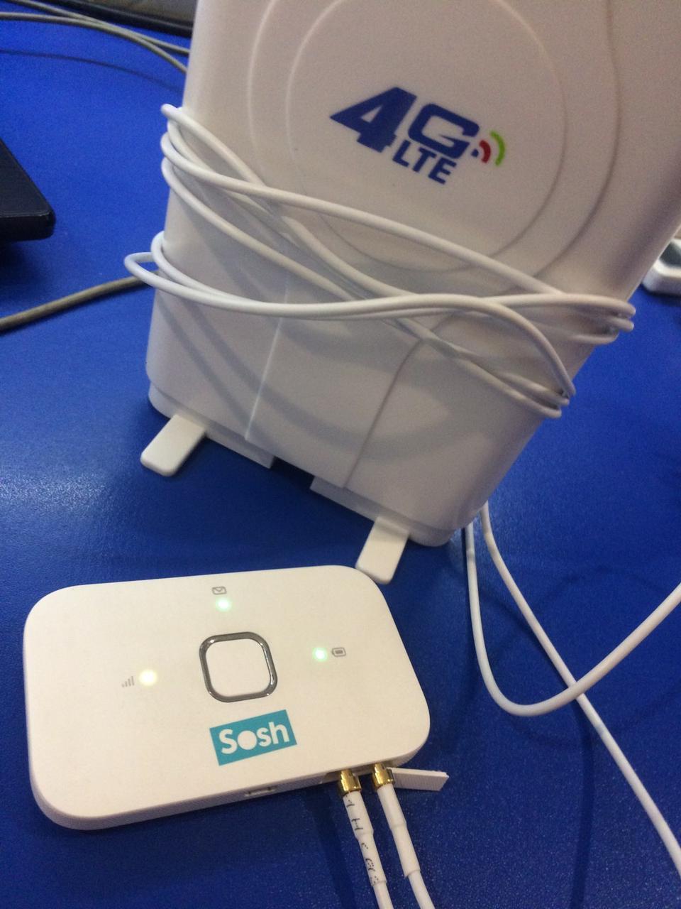 3G/4G КОМПЛЕКТ HUAWEI R216 (E5573BS-320), АНТЕННА 4G LTE MIMO  (КИЕВСТАР, VODAFONE, LIFECELL)