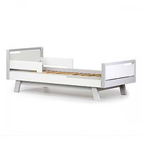 Кровать подростковая Верес Манхэттен Junior (цвет: бело-буковый) 190*80