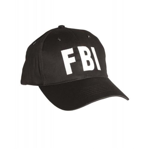 """Бейсболка """"FBI"""", [019] Black"""