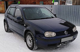 Ветровики, дефлекторы окон Volkswagen Golf IV 5d 1999-2005 'Cobra tuning'