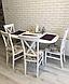 Деревянный стул в стиле прованс -Каскад (белый, орех), фото 7