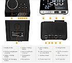 Колонка Bluetooth Inlife K11 FM радио будильник, фото 5