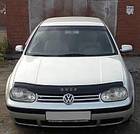 Дефлектор капота мухобойка Volkswagen Golf 4 1997-2003 фольксваген гольф 4