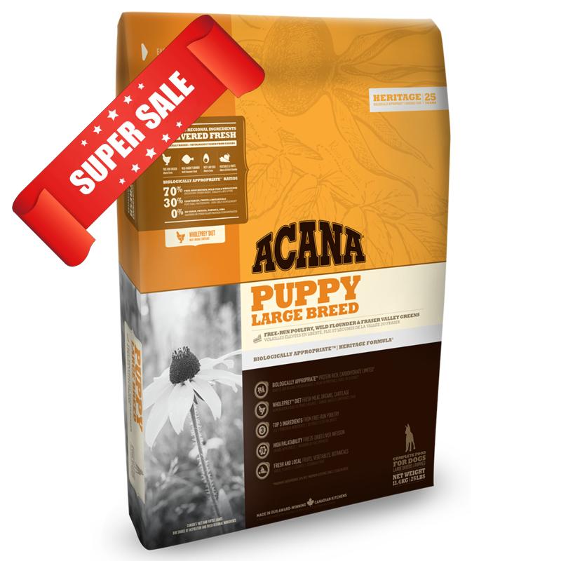 Сухой корм для собак Acana Puppy Large Breed 11,4 кг
