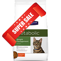 Лечебный сухой корм для котов Hill's Prescription Diet Feline Metabolic Weight Management 1,5 кг