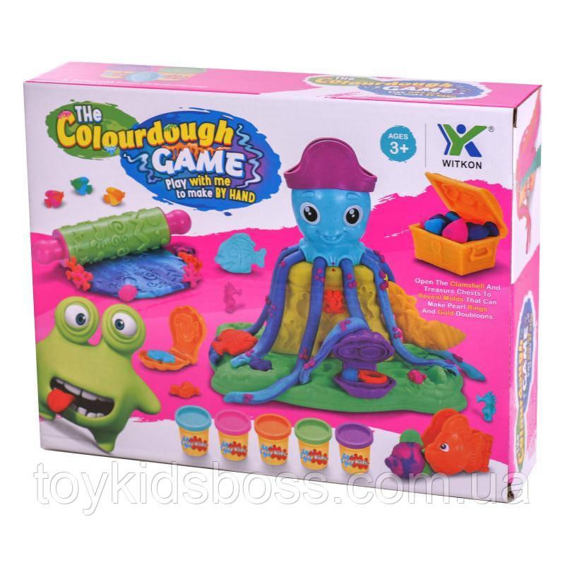 Пластилин осьминог