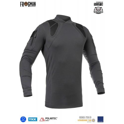 """Рубашка тренировочная полевая """"FRS-DELTA"""" (Frogman Range Shirt Polartec Delta), [1223] Graphite"""