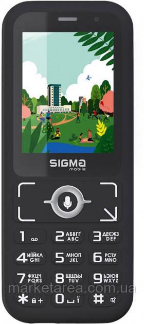 Телефон кнопочный сигма черный с камерой 2 мп Sigma Comfort S3500 Skai Black WiFi