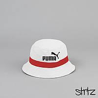 Модная белая панама Puma