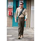 """Рубашка тактическая """"5.11 Tactical Shirt - Long Sleeve, Cotton"""", [019] Black, фото 3"""