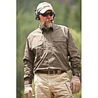 """Рубашка тактическая """"5.11 Tactical Shirt - Long Sleeve, Cotton"""", [019] Black, фото 5"""