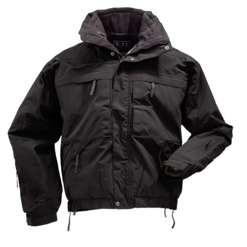 """Куртка тактическая демисезонная """"5.11 Tactical 5-in-1 Jacket"""", [019] Black"""