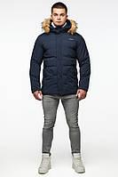 Мужская зимняя куртка Braggart Youth 25780 синий