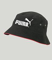 Пума панама мужская , мужская панама ,летняя панама черная Puma ,реплика, фото 1