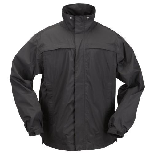 """Куртка тактическая для штормовой погоды """"5.11 Tactical TacDry Rain Shell"""", [019] Black"""