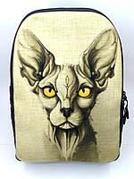 Джинсовый рюкзак СФИНКС, фото 1