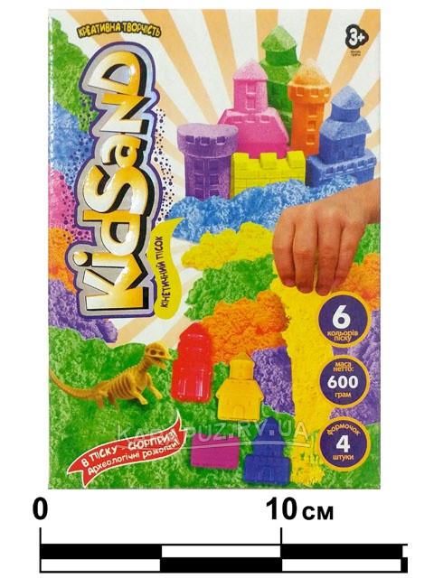 """Набір креативної творчості """"Кінетичний пісок""""KidSand"""" коробка 600 г , DANKO TOYS"""