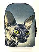 Джинсовый рюкзак СФИНКС 2, фото 1
