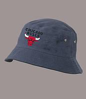 Панама Chicago Bulls, синяя |  Чикаго булз, лето, как оригинал, фото 1