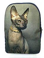 Джинсовый рюкзак СФИНКС 3, фото 1