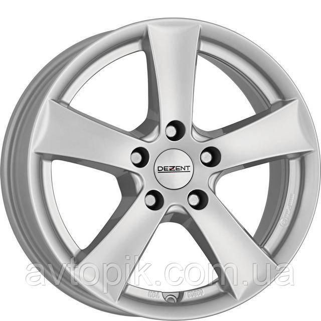 Литые диски Dezent TX R17 W7.5 PCD5x114.3 ET45 DIA71.6 (silver)