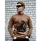 "Свитшот зимний ""WS- Loner"" (Winter Sweatshirt Loner Spirit), [1174] Coyote Brown, фото 2"
