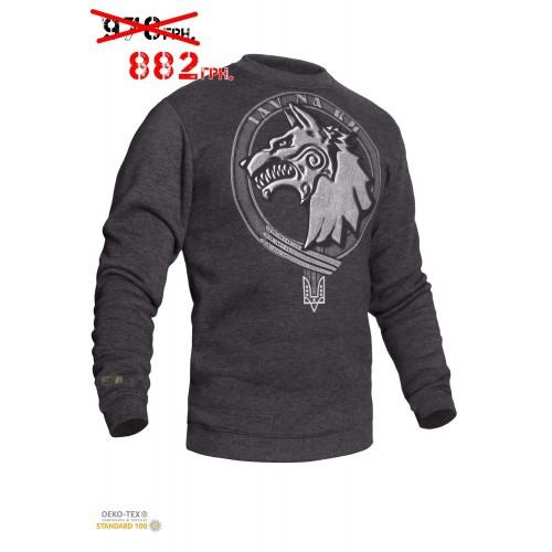 "Свитшот зимний ""WS- Special Force"" (Winter Sweatshirt Ukrainian Special Forces) ССО, [1223] Graphite"