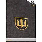 "Свитшот зимний ""WS- Armored Force"" (Winter Sweatshirt Ukrainian Armored Forces) МВ ВСУ, [1223] Graphite, фото 3"