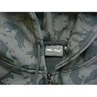 Реглан с капюшоном на молнии камуфляжный, [1150] Black camo, фото 4