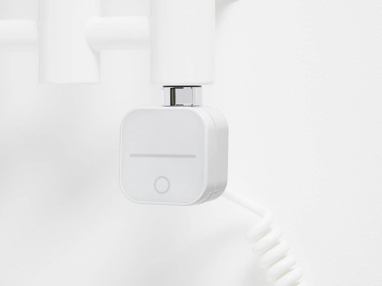 ТЭН HeatQ NEX 1.0 white: регулятор 30-60С +таймер до 8ч.+ Bluetooth + программатор до 7 дней через телефон