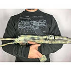 "Свитшот зимний ""WS- AK47"" (Winter Sweatshirt AK-47 Rifle Legend) , [1223] Graphite, фото 3"