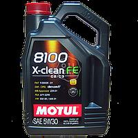 Моторное масло Motul 8100 X-Clean FE 5W-30   ОБЪЕМ - 4Л