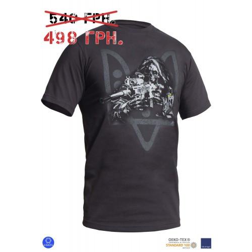 """Футболка с рисунком """"Special Force Sniper"""", [1223] Graphite"""