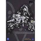 """Футболка с рисунком """"Special Force Sniper"""", [1223] Graphite, фото 4"""
