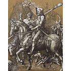Футболка с рисунком «Рыцарь, смерть и дьявол», [1174] Coyote Brown, фото 3