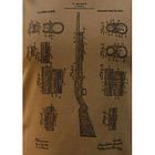 """Футболка с рисунком """"Ружье Shotgun"""", [1174] Coyote Brown, фото 3"""