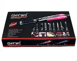 Набор для укладки волос стайлер Gemei Gm-4835 10в1