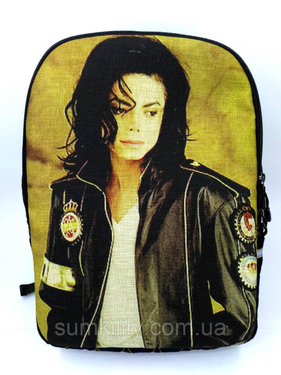 Джинсовый рюкзак Майкл Джексон 5