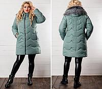Теплая куртка 472 на холлофайбере 300 батал 52-60