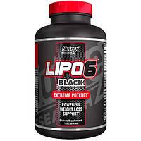 Жиросжигатель Lipo-6 Black Nutrex  120 капсул