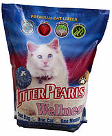 Кварцевый наполнитель Litter Pearls Wellness, 3,4л