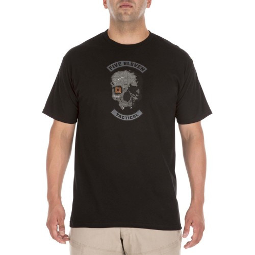 "Футболка ""5.11 Tactical Topo Skull Short Sleeve T-Shirt"", [019] Black"