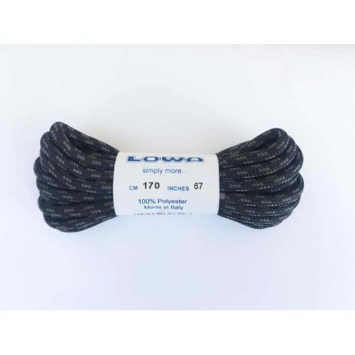 """Шнурки """"Lowa TREKKING 170 cm, black"""", [019] Black"""