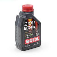 Моторное масло Motul 8100 Eco-Lite 5W-30 ОБЪЕМ 1Л
