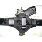 Кобура поясная синтетическая формованная быстросъемная на скобе, [019] Black, фото 4