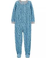 Флисовый комбинезон пижама Картерс для мальчика